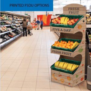 Floorstanding Printed Display Units
