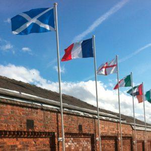 Modular Pop-Up Flags, Poles & Accessories