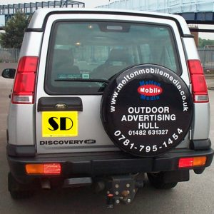 4x4 Spare Wheelcovers