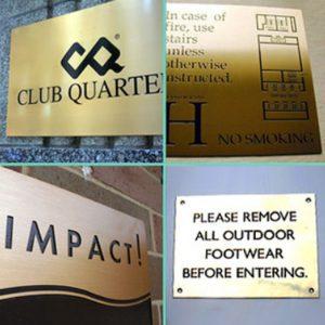 Memorial Plaques & Business Nameplates