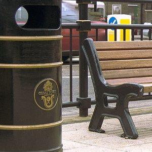 Outdoor Street Furniture (Litter, Grit & Ash Bins)