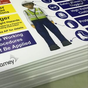 Temporary Strap-Up Traffic & Site Signs