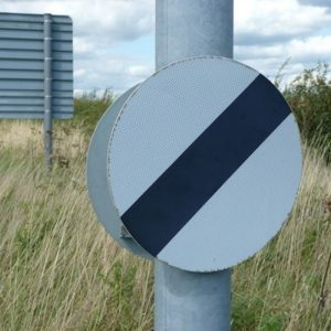 Circular Road Traffic Signs (Permanent)
