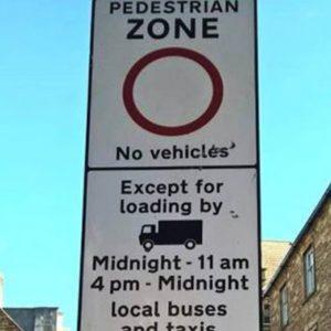 Rectangular Traffic Signs (Permanent)