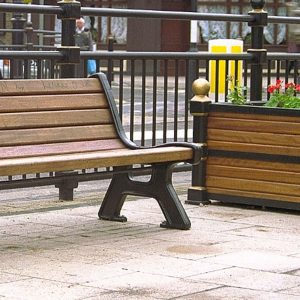 Outdoor Street Furniture (Seating & Planters)