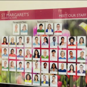 Photo & Staff Information (Notice Boards)
