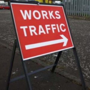 Metal Frames For Temporary Road Signs