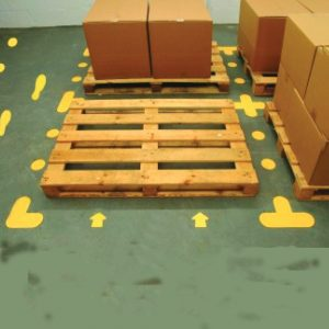 Warehouse Floor & Racking Graphics