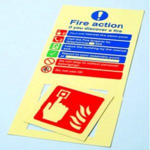Fire Action Fascia Panels
