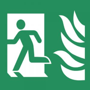 Fire Exit Signs & Stickers