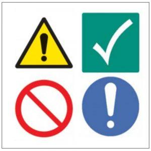 Emergency Shut Off & Machinery Multi Colour