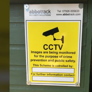 CCTV Signs & Stickers