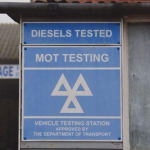 MOT / Repair Garage Signage & Products
