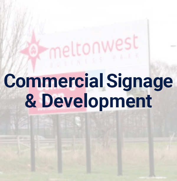 Commercial Signage & Development