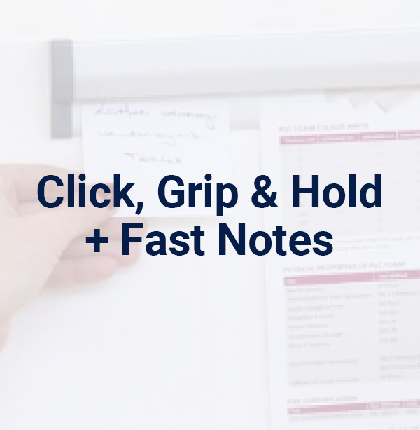 Click, Grip & Hold + Fast Notes