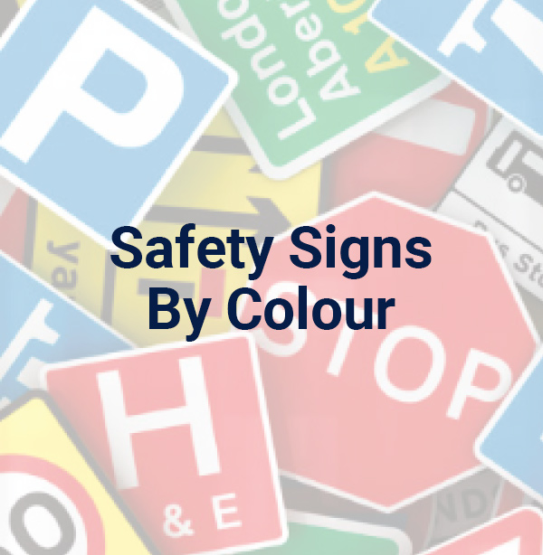 Safety Signs by Colour